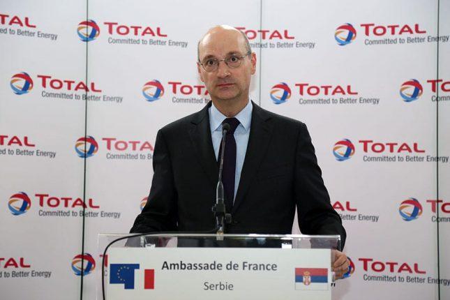 Ambassador of France Frederic Mondoloni