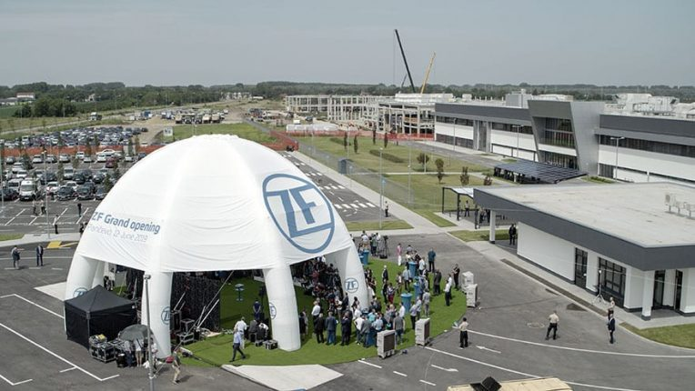 Germany's ZF opens factory in Pančevo (1)
