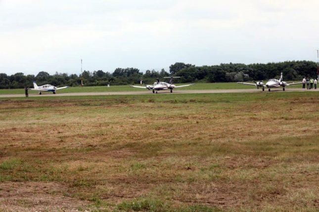 Morava Airport near Kraljevo opened for civil traffic