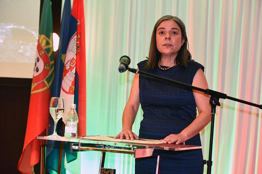Ambassador of Portugal Virginia Pina
