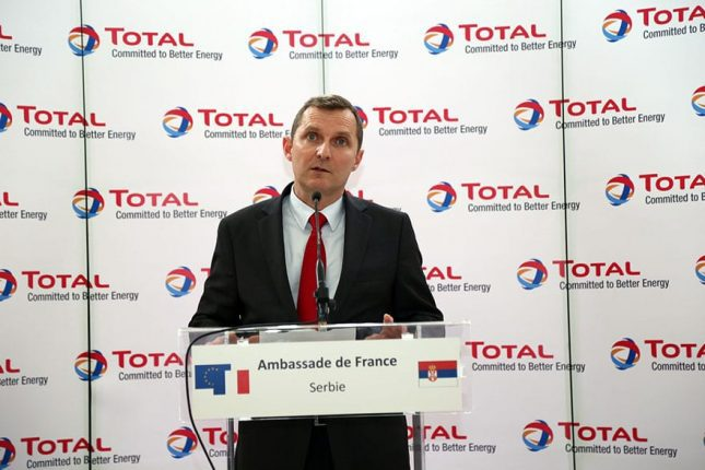Pierre Duhot, Vice President of Total for South-East Europe