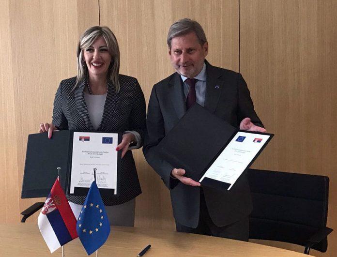 Serbia opens Chapter 9 Johannes Hahn Jadranka Joksimovic