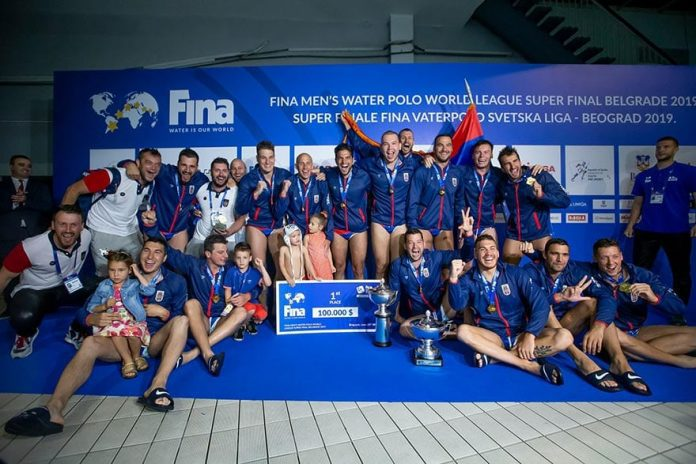 Serbia wins Water Polo World League Title 2019