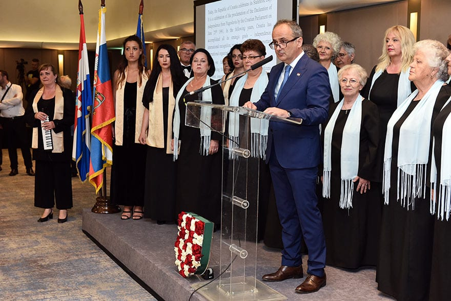 Gordan Bakota Statehood Day of Croatia