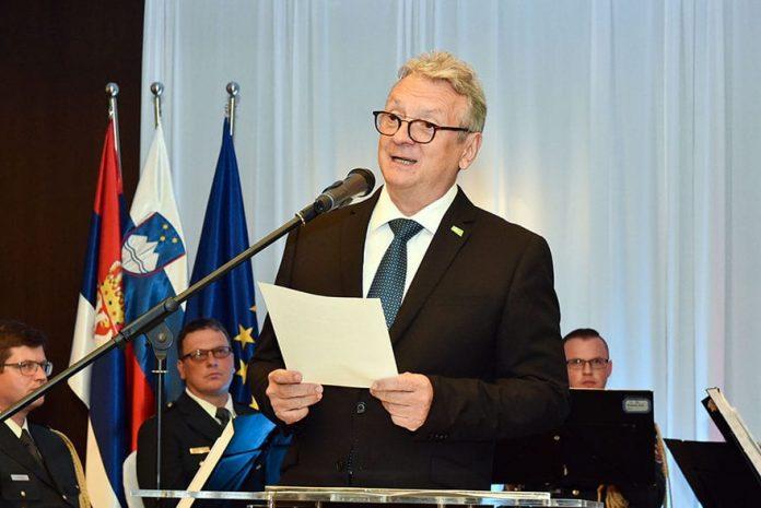 Iztok Jarc ambassador of Slovenia in Serbia