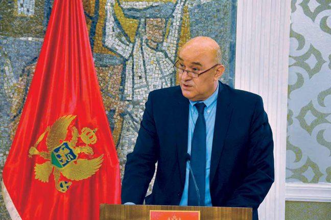 Darko Radunović, Montenegrin Finance Minister