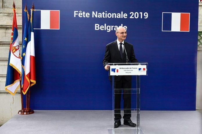 Ambassador of France to Serbia Frédéric Mondoloni