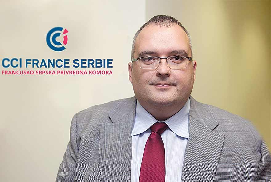 Dragoljub Damljanović French-Serbian Chamber of Commerce