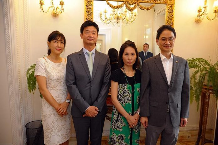 Korean Embassy and KOTRA event for business partners