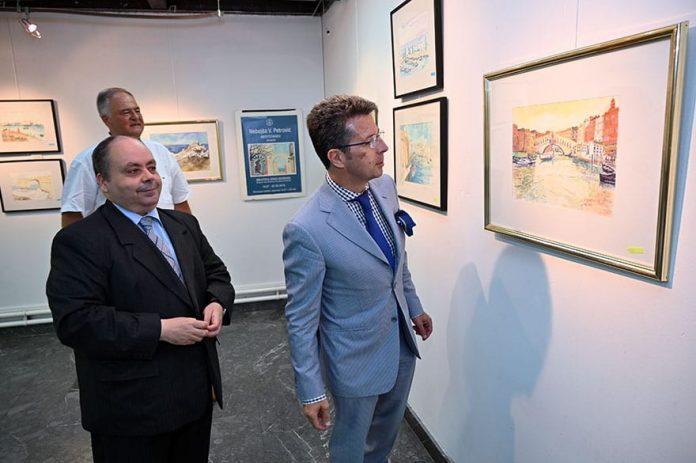 Ambassador of Tunisia opens exhibition Mediterraneo