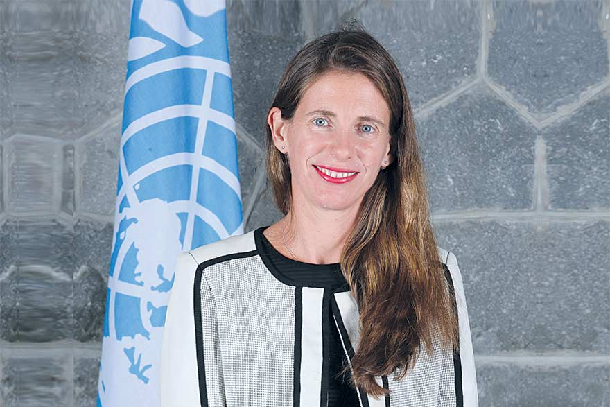 Francine Pickup UNDP