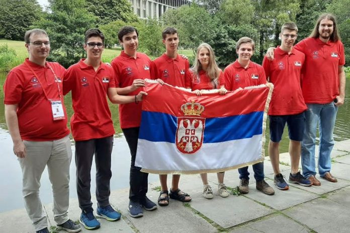Serbian mathematicians gold medals in UK Great Britain