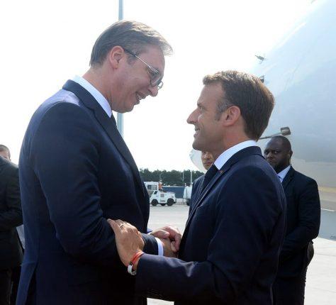 Emmanuel Macron Aleksandar Vucic