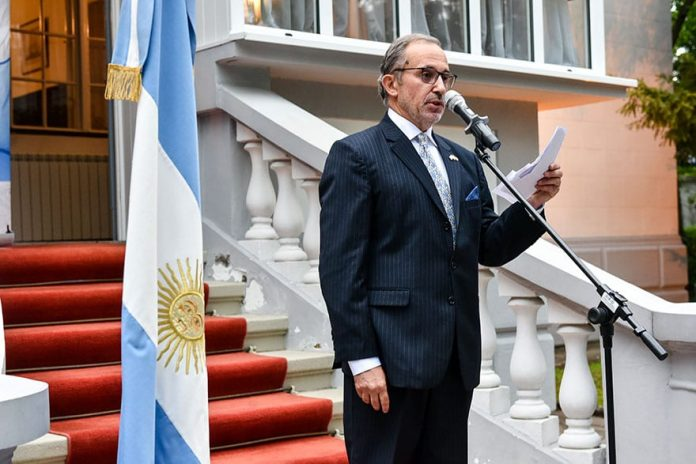 Ambassador of Argentina Estanislao Angel Zawels