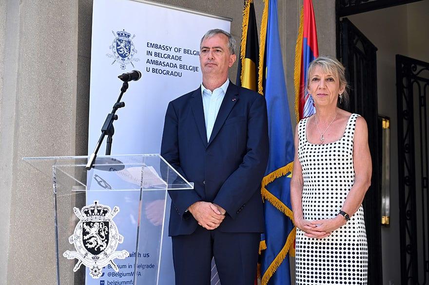 Independence Day of Belgium 2019 Ambassador Koenraad Adam