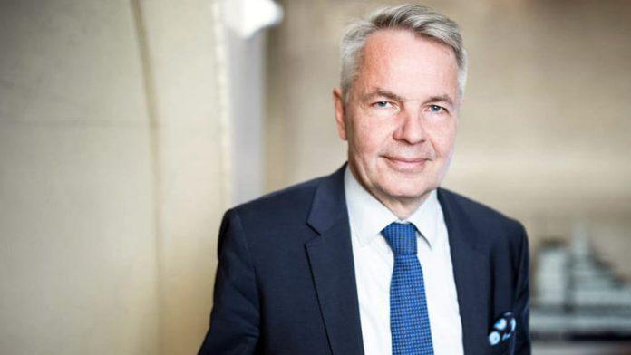 Pekka Haavisto Minister of Foreign Affairs of Finland
