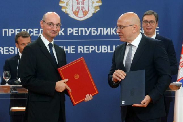 Serbia and France sign 22 co-operation agreements