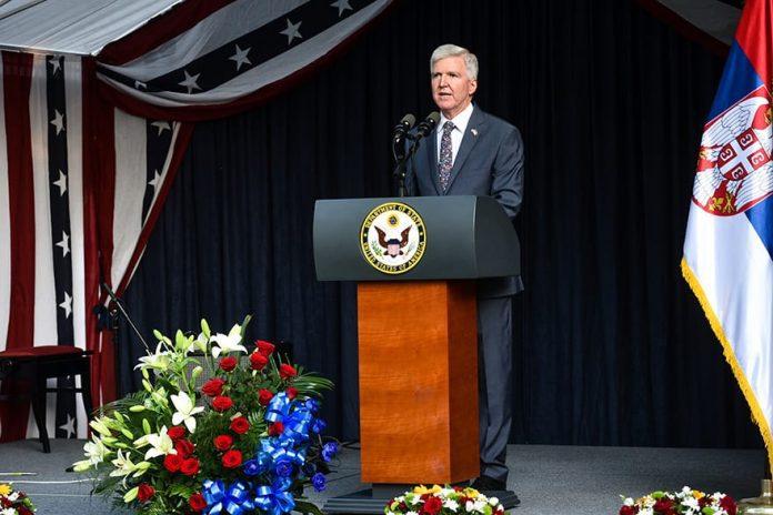 Ambassador Kyle Scott US Independence Day 2019