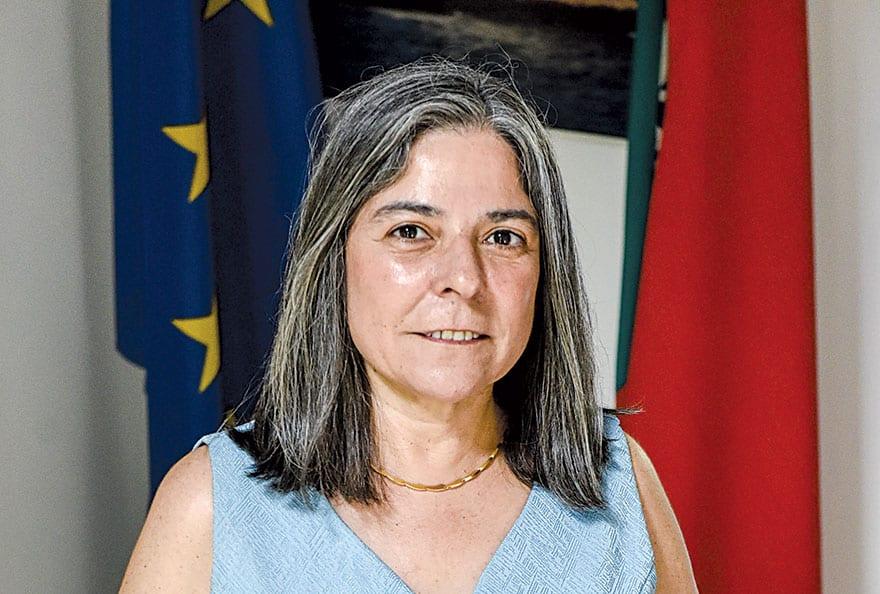 Virgínia Pina Ambassador of Portugal