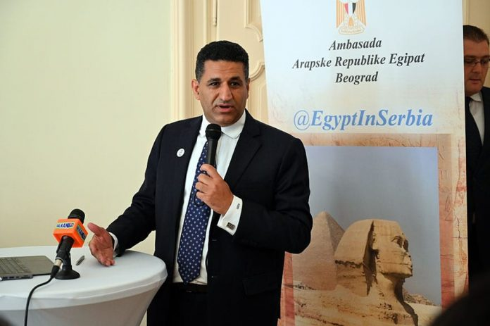 Ambassador Amr Aljowaily Round table on contemporary Egyptian art