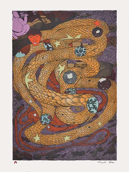 Shuvinai ashoona inner worlds contextual
