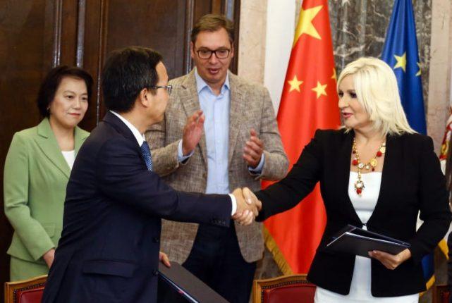 Contract for New Belgrade-Surcin highway section signed Mihajlovic