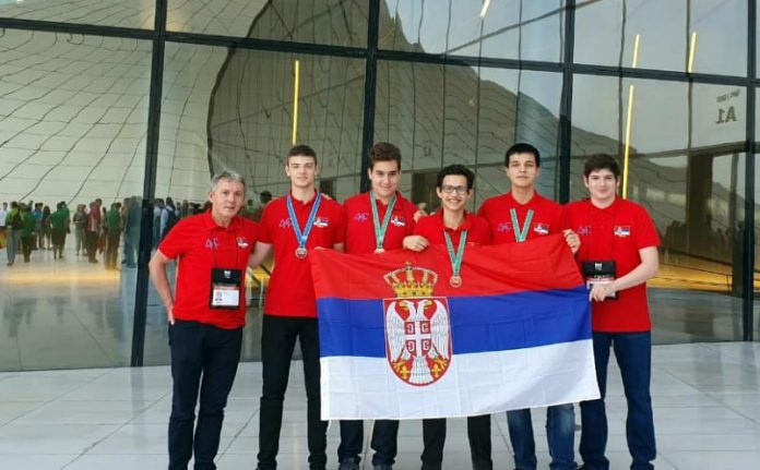 Four medals for Serbian students at International Olympiad in Informatics