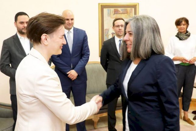Improvement of economic cooperation between Serbia and Portugal Ana Brnabic Virginia Pina