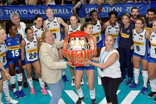 Italy women Volleyball team Tokyo 2020