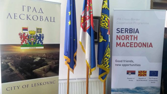 The first call for proposals under the Serbia-Northern Macedonia Cross-Border Cooperation Programme was presented at a ceremony held in Leskovac