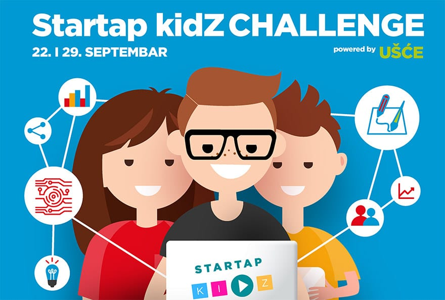 Startup kidZ Challenge Ušće 2019