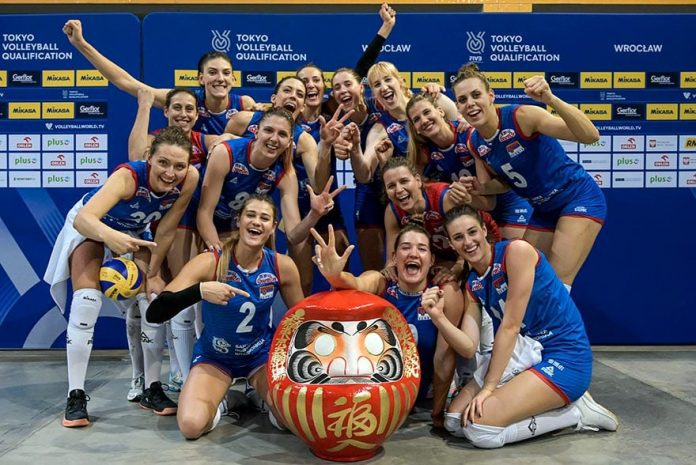 Serbia and Italy bound for Tokyo Olympics after weekend's women's volleyball qualifiers