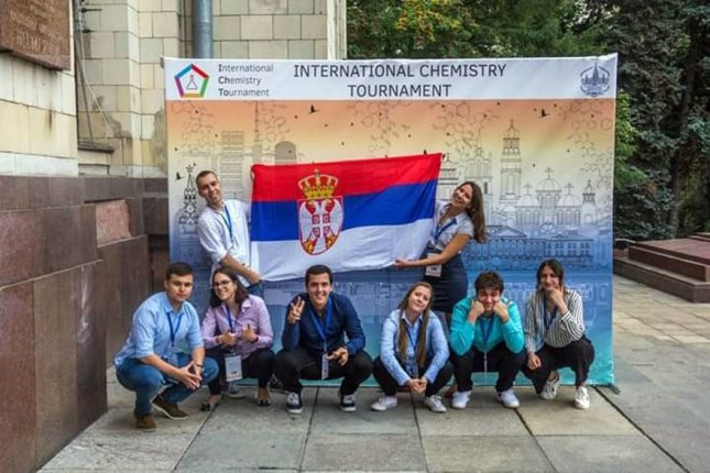 Young Serbian Chemists Second In The World