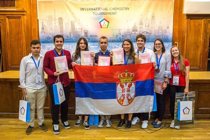 Young Serbian Chemists Medal Moscow
