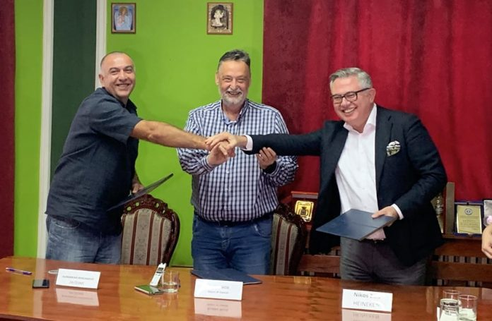 Agreement on the Restoration of the oldest water taps in Zaječar