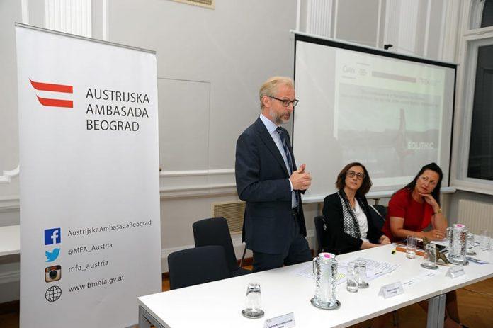 Nikolaus Lutterotti Ambassador of Austria to Serbia