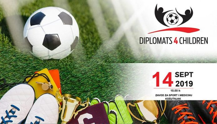 Charity Football Tournament Diplomats 4 Children