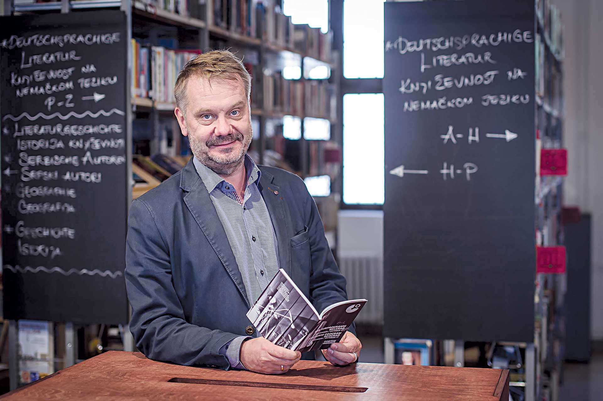 Frank Baumann, Director of Goethe institut Belgrade