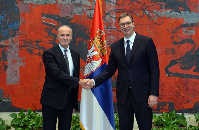 French Ambassador to Serbia Falconi