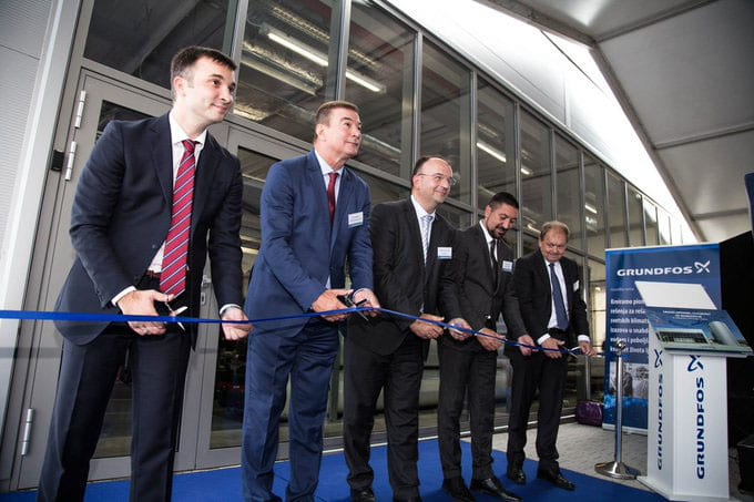 Grundfos Opens a Wastewater Treatment Plant in Inđija