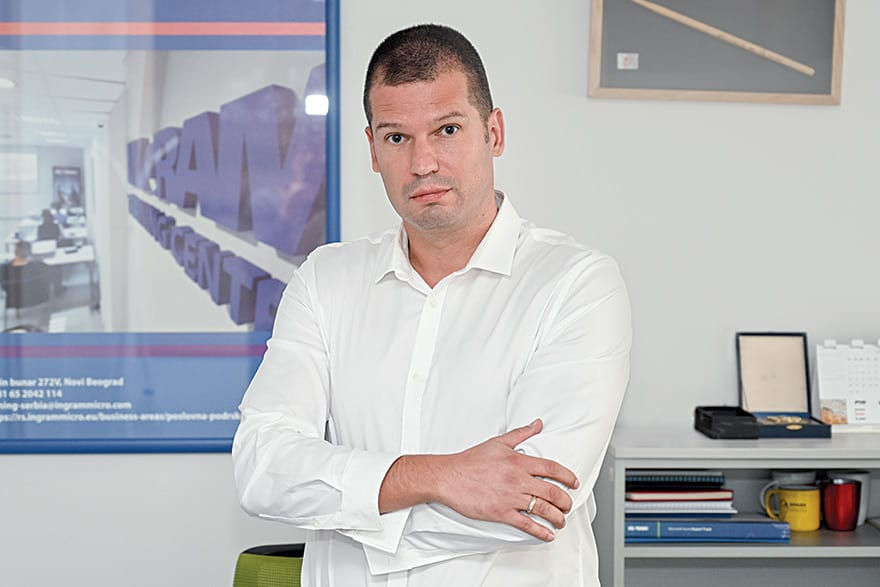 Igor Urošević, Head of Technical Department South-East Europe, Ingram Micro