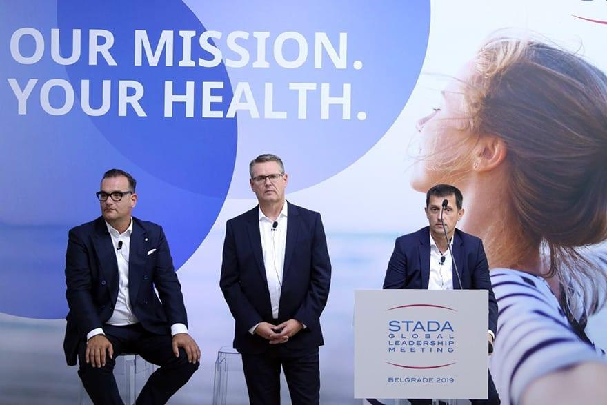 Peter Goldschmidt, CEO of Stada