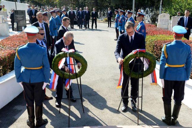 President of the Czech Republic Visits Belgrade 1