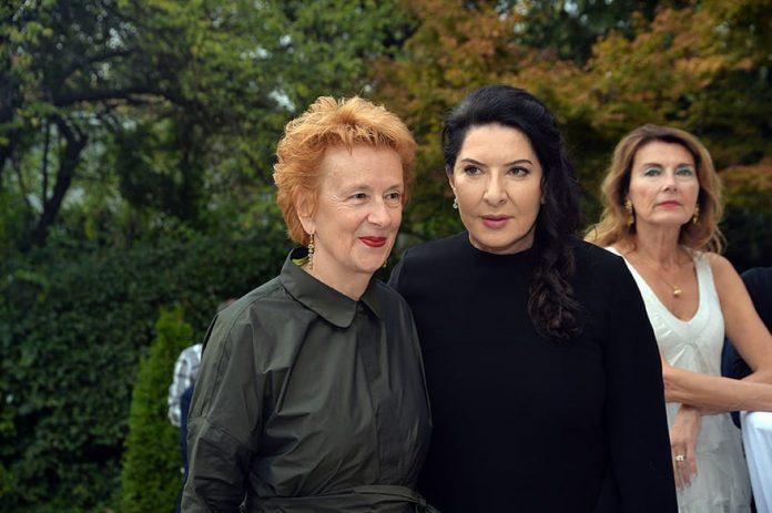 Marina Abramovic and Jeannette Fischer