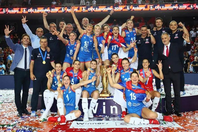 Serbia Wins 2019 Women's European Volleyball Championship