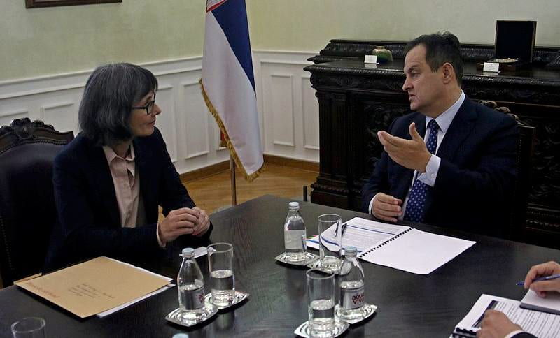 UK Ambassador to Serbia Sian Macleod