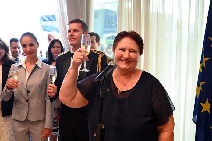Dagmar Repcekova Slovakia Constitution Day