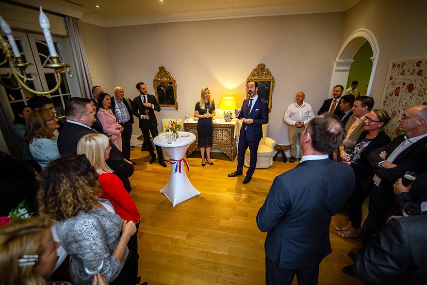 Ambassador Gilles Beschoor Plug hosts Dutch Business Community in Serbia