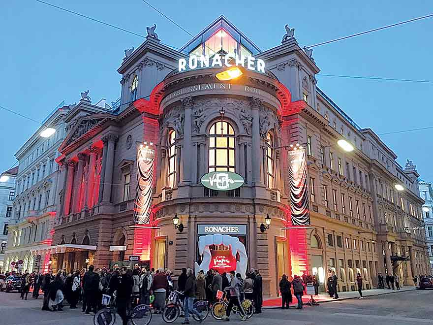 Austria's theatres, Ronacher Theater