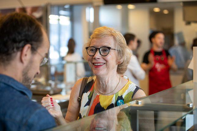 Birgita Tenander Swedish Embassy Hosts Food For Tomorrow Event